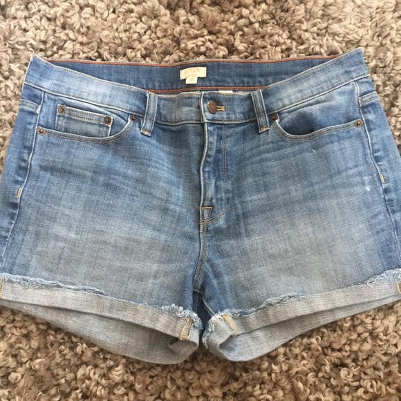 J. Crew Pants - J Crew stretch Jean shorts. Size 30